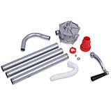 Насос ручной бочковой REWOLT механический (масло и технические жидкости) RE SL007A алюминиевый корпус, фото 6
