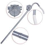 Насос ручной бочковой REWOLT механический (масло и технические жидкости) RE SL007A алюминиевый корпус, фото 2