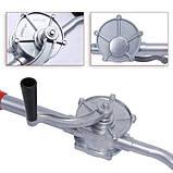 Насос ручной бочковой REWOLT механический (масло и технические жидкости) RE SL007A алюминиевый корпус, фото 7