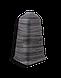 Плинтус Dekor Plast LL023 Граб Темный пластиковый,напольный двухсостовной с кабель-каналом, фото 3