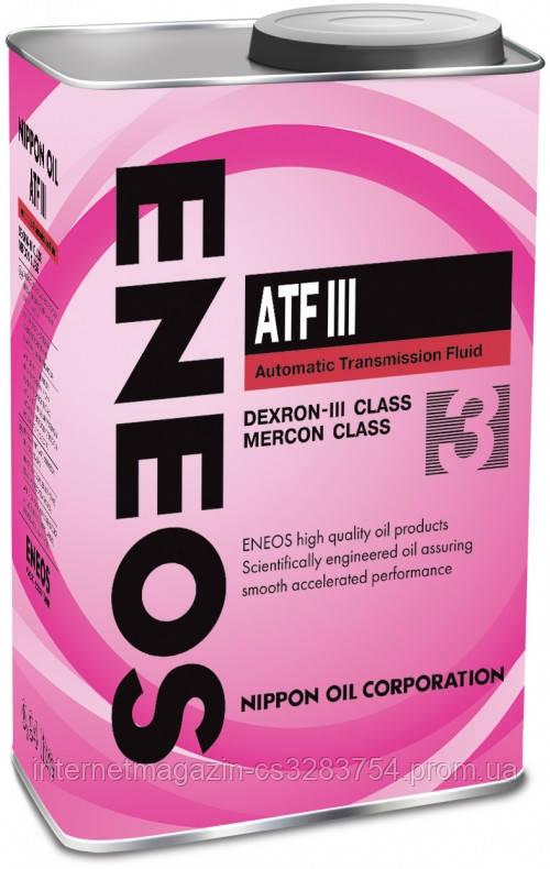 Жидкость в АКПП ENEOS DEXRON - III 0.94 л (ENTODIII-1)