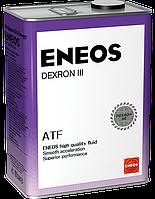 Жидкость в АКПП ENEOS DEXRON - III 4 л (ENTODIII-4)