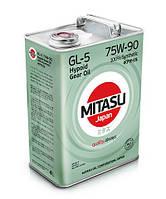 Трансмиссионное масло MITASU Gear Oil GL-5 75W90 4 л (MJ-410-4)