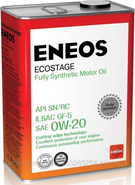 Моторное масло ENEOS SN 0W-20 4 л (ENFS020SN-4)