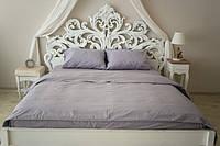 Комплект постельного белья Prestige Евро Silver 200х220 см серый SKL29-150471