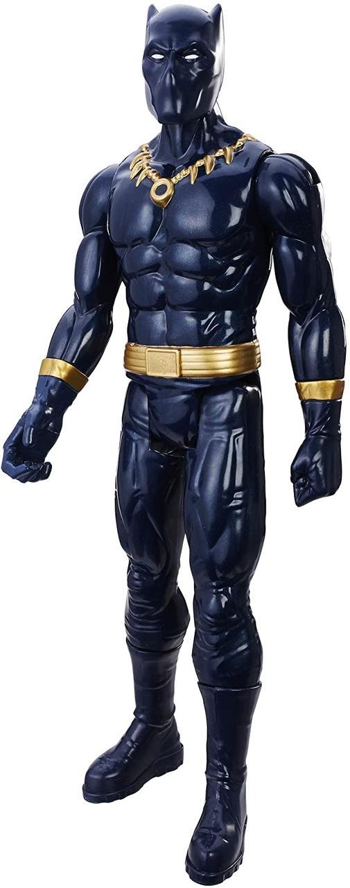 Игрушка-фигурка Hasbro, Чёрная Пантера, Марвел, 30 см - Black Panther, Marvel, Titan Hero Series