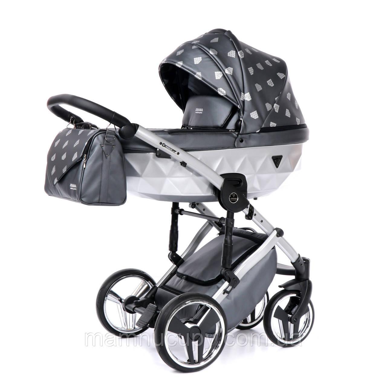 Детская универсальная коляска 2 в 1 Junama Diamond Glow 04