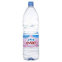 Вода минеральная ЭВИАН/ EVIAN 2,0 л б/газа пэт