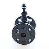 Клапан запорный чугунный 15ч9п фланцевый (Украина) Ду50 Ру16, фото 5