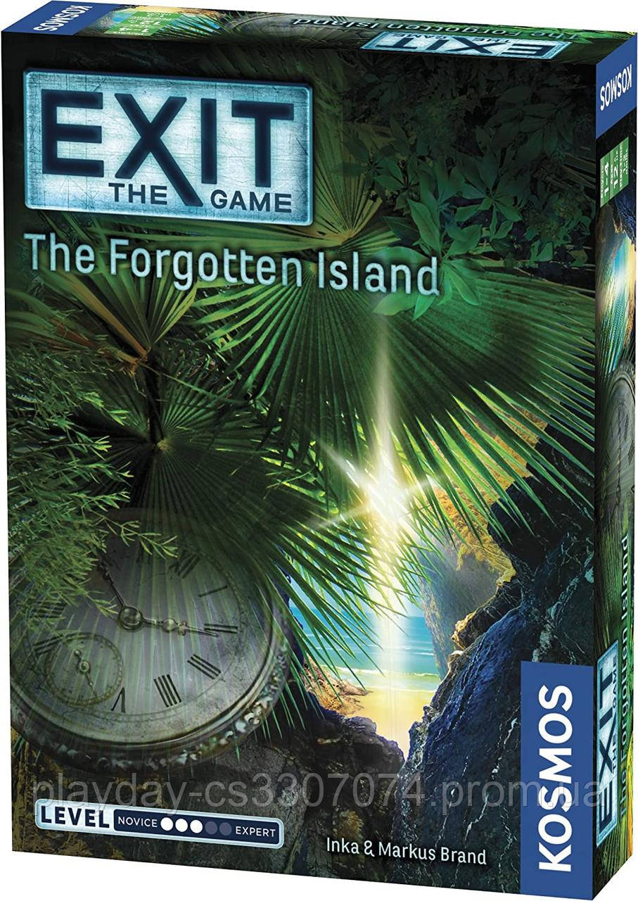 "Квест игра ""Забытый остров""  Exit the game The Forgotten Island from Kosmos"
