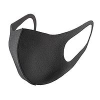 Маска Питта для лица защитная многоразовая Pitta Mask черная 1 ШТУКА,ЗАВОДСКАЯ, ЗАПАЕННАЯ НА ЗАВОДЕ