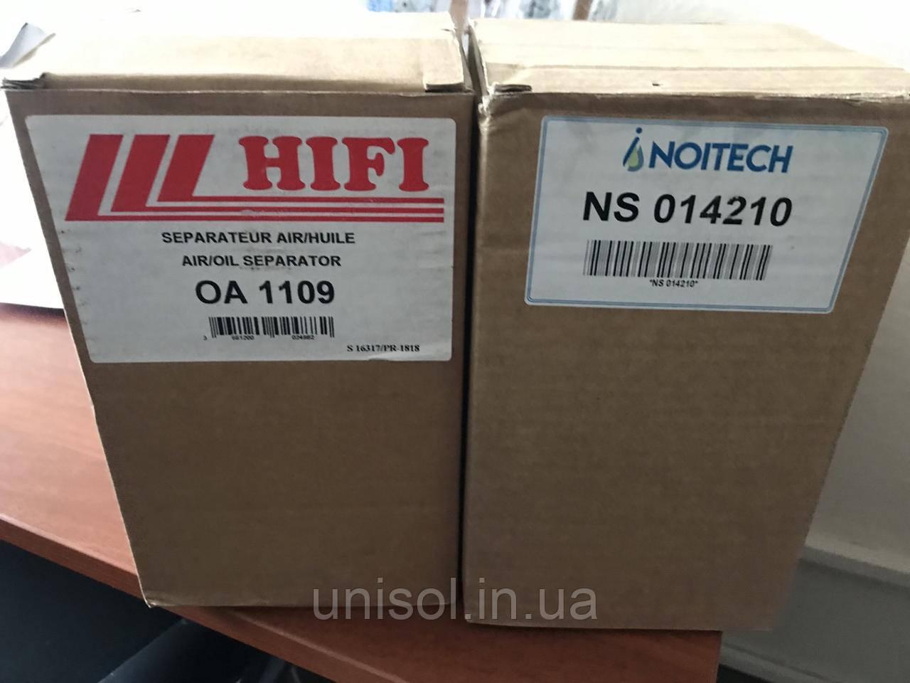 Сепаратор ATLAS COPCO 1615943600, Noitech NS 014210, HIFI FILTER OA 1109, Sotras DA 1142