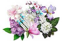 Женские цветочные лёгкие духи набор пробников по 5 мл 5 шт (3 шт +2 в подарок)