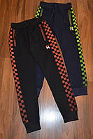 Трикотажные спортивные штаны на манжете для мальчиков.Размеры 140-170 см.Фирма GRACE.Венгрия, фото 1
