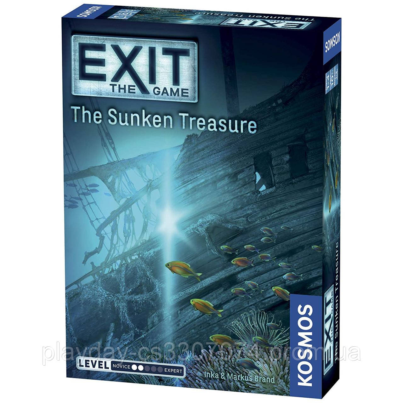 "Квест игра ""Затонувшее сокровище"" Exit the game The Sunken Treasure from Kosmos"
