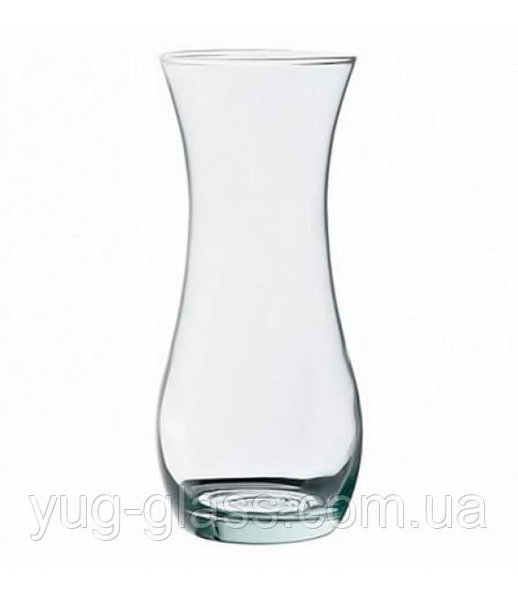 Стеклянная ваза фигурная
