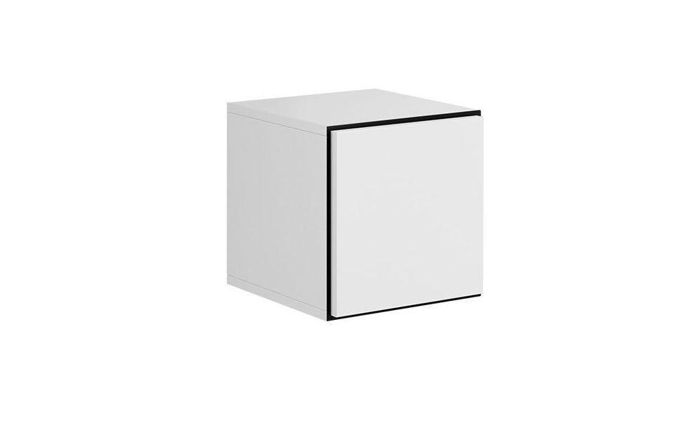 Шкафчик ROCO RO5 CAMA белый/черный/белый