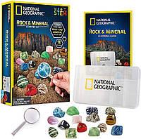 Набор камней и минералов National Geographic rock & mineral  starter kit, фото 1