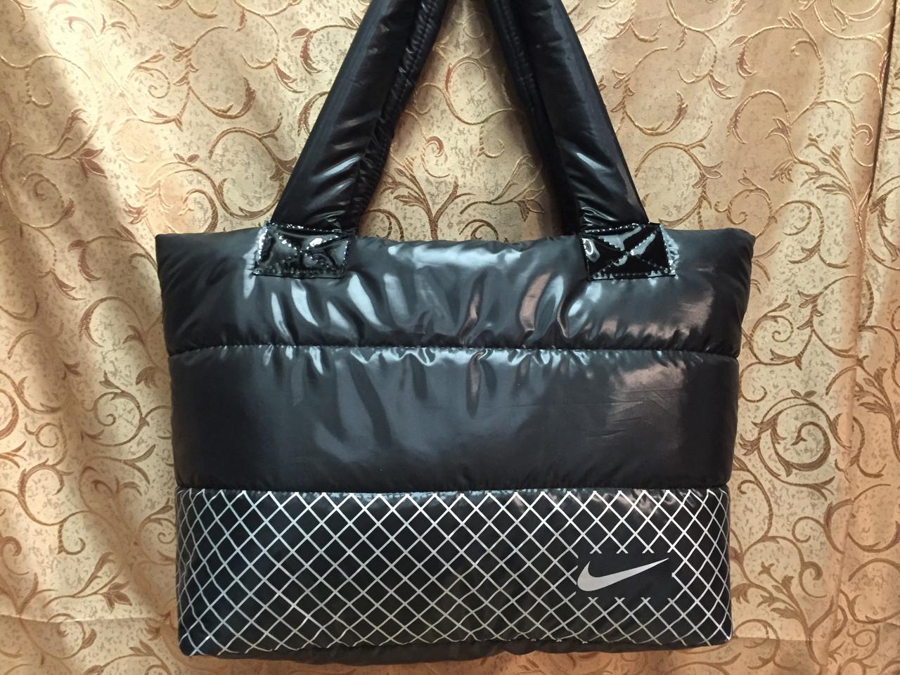 Сумка дутая/Спортивная сумка NIKE/Женские спортивная сумка(только оптом)Сумка стильный  дутики