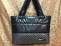 Сумка дутая/Спортивная сумка NIKE/Женские спортивная сумка(только оптом)Сумка стильный  дутики, фото 1