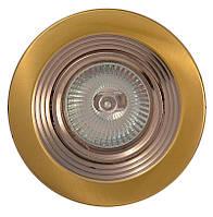 Точечный светильник MR16 102A SG/N сат.золото/никель