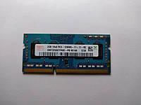 Оперативная память для ноутбука SODIMM Hynix DDR3 2Gb 1600MHz PC3-12800S (HMT325S6CFR8C-PB) Б/У, фото 1