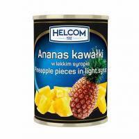 Helcom ананаси шматочками 580 мл.