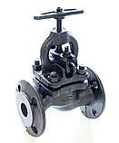 Клапан запорный чугунный 15кч16п1 фланцевый (Украина) Ду50 Ру25, фото 3