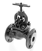 Клапан запорный чугунный 15кч16п1 фланцевый (Украина) Ду65 Ру25