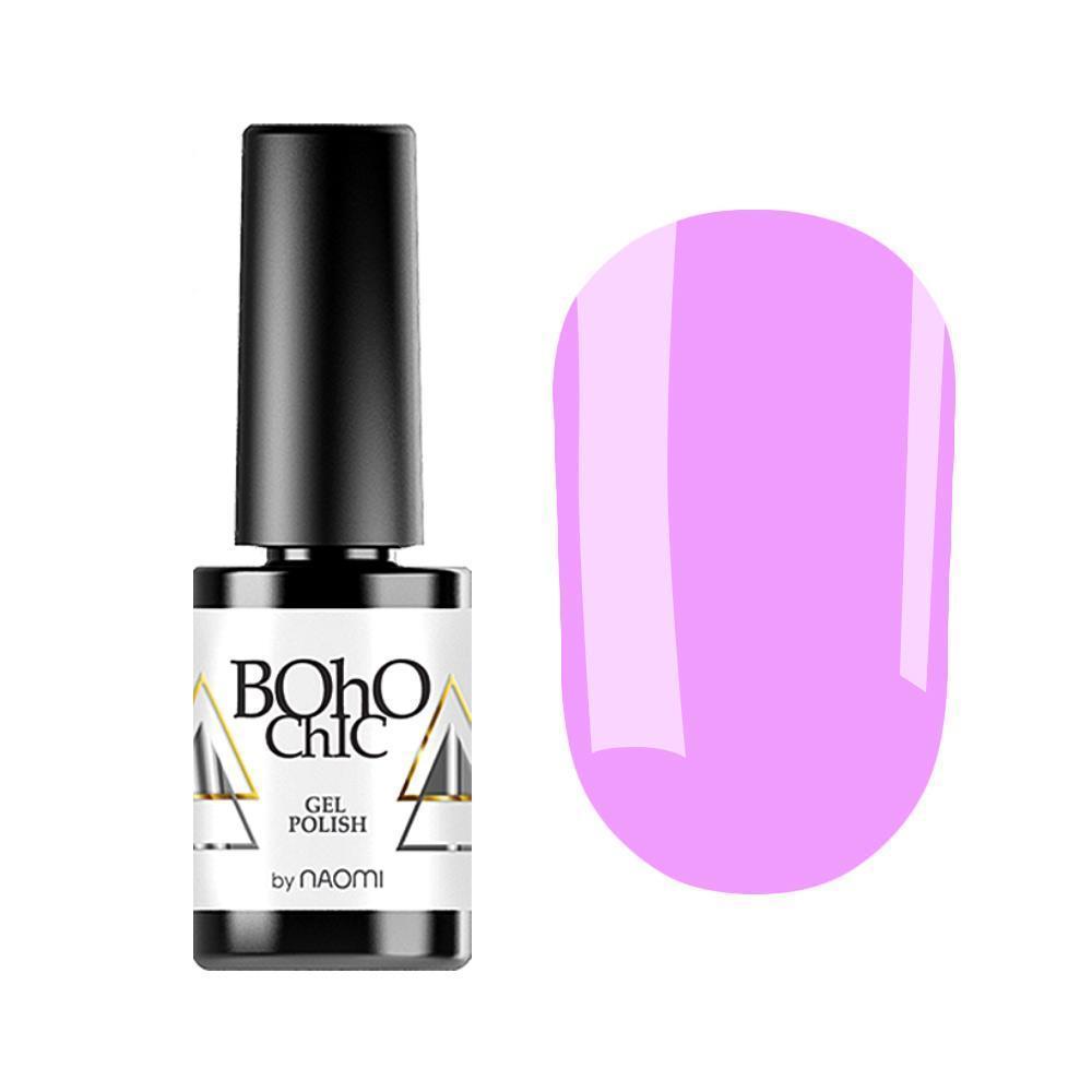 Гель-лак для ногтей Naomi Boho Chic BC014 Фиолетовый ,6 мл