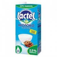 Лактель молоко ультрапастеризоване 2,5% 1л