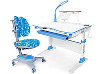 Комплект парта Evo-kids Evo-30 BL + кресло Y-115 ABK