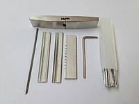 Слесарный набор отмычек для перфорированных, лазерных, луночных замков (импрессионая фольга) тип - 1