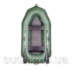 Двухместная надувная гребная лодка BARK B-250