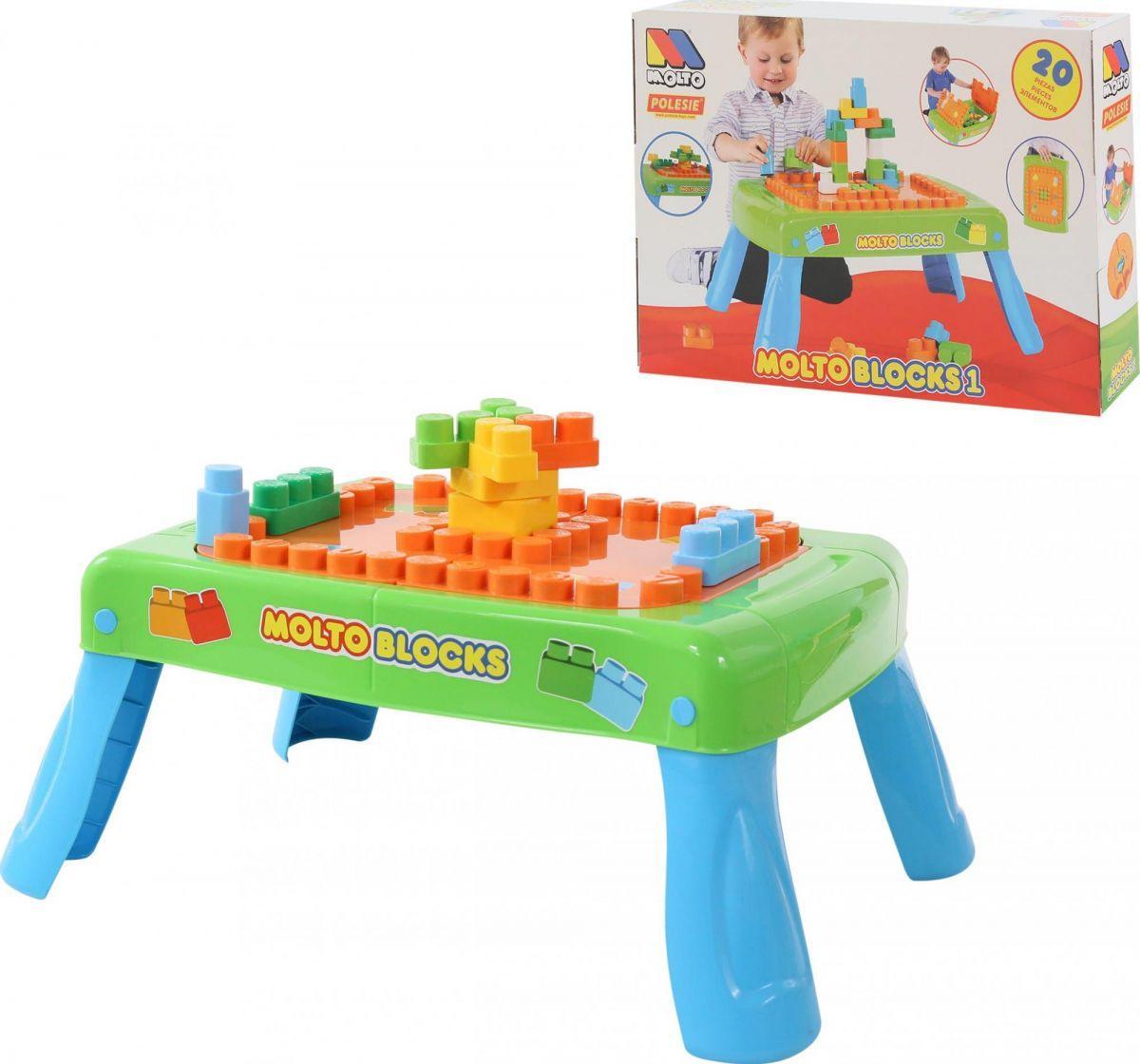 Ігровий набір столик з конструктором (20 ел. ) Полісся (57990)