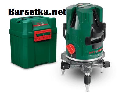 Лазерный уровень(нивелир) DWT LLC05-30 BMC (5 лучей,гарантия 2 года, 30 метров, зеленый луч, профессиональный)