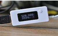 USB тестер емкости батарей и зарядных (ёмкость, напряжение, сила тока)