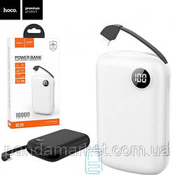 Power Bank Hoco B38 Extreme With Cable Lightning 10000 mAh Original белый