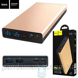 Power Bank Hoco B39 30000 mAh Original черно-золотистый