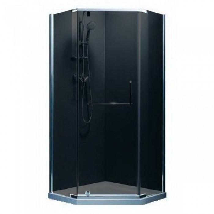 Душевая кабина Devit Comfort FEN0223G 100x100 см, стекло серое