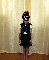 Прокат карнавального костюма для девочки Ворона