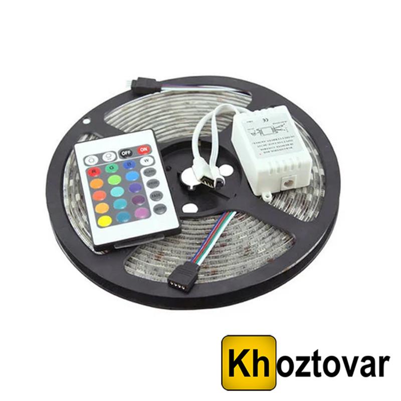 Светодиодная лента с комплектом для подключения RGB 3528