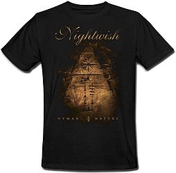 Футболка Nightwish - Human. :II: Nature. (чёрная)