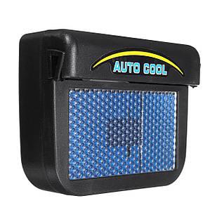 Автомобильный вентилятор Auto Cool для проветривания салона автомобиля с солнечной батареей (2850-7675)