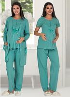Пижама для беременных и кормящих мам Sweet baby L/XL