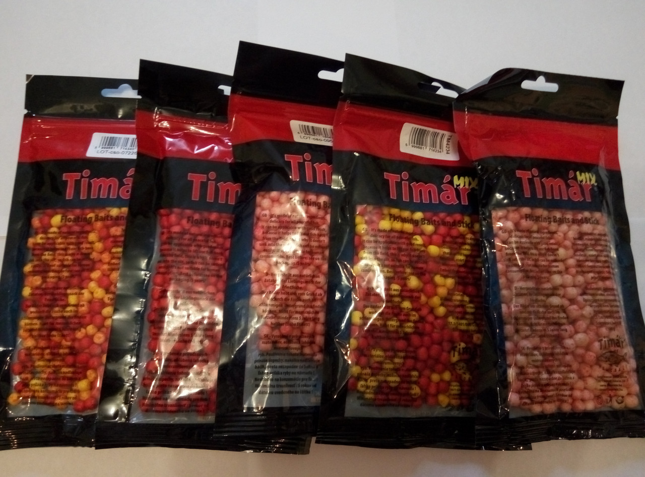 Прикормка повітряне тісто Timar mix 30 г коноплі