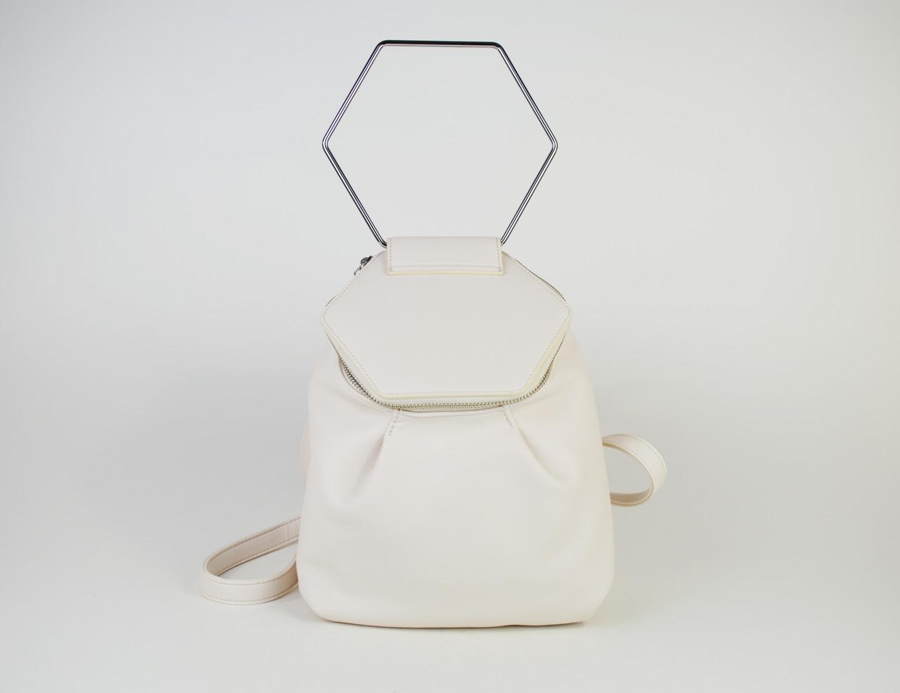 Сумка-рюкзак Polina&Eiterou 8604 Молочный