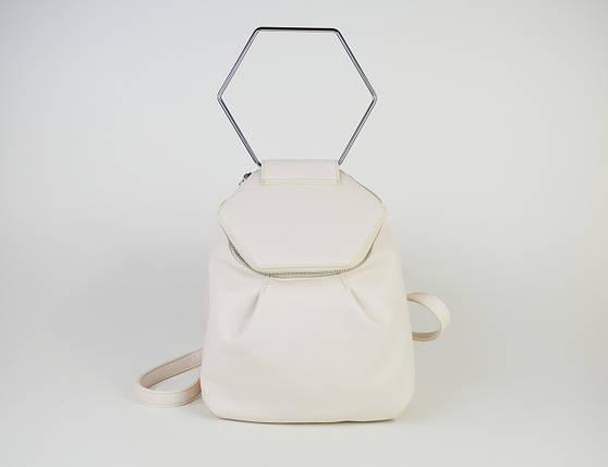Сумка-рюкзак Polina&Eiterou 8604 Молочный, фото 2
