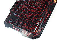 Профессиональная игровая клавиатура с подсветкой Gamer wireo М200L Razer