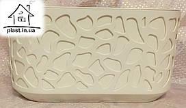 Горшок цветочный Дуэт овальный Ламела